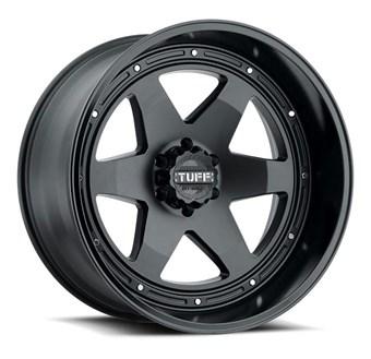 Tuff A/T T1A MATTE BLACK W/GLOSS BLACK LIP