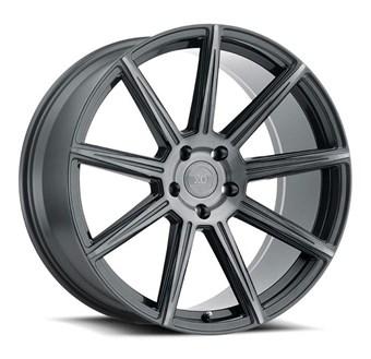 XO Luxury Wheels VEGAS GUNMETAL W/BRUSHED GUNMETAL FACE