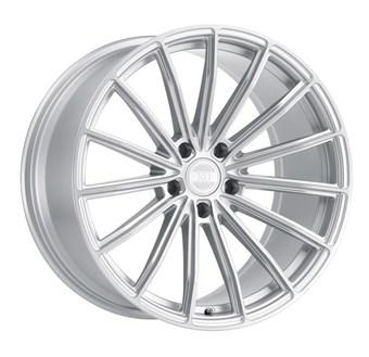 XO Luxury Wheels LONDON SILVER W/BRUSHED FACE
