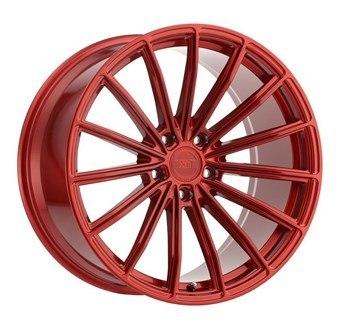 XO Luxury Wheels LONDON CANDY RED