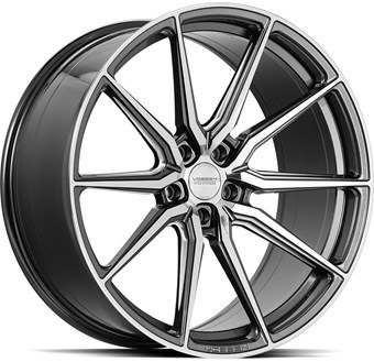 Vossen HF3 Gloss Graphite Polished