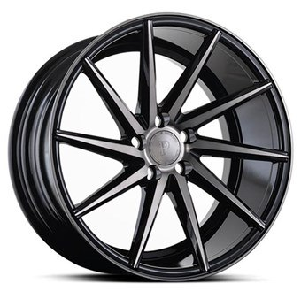 Platinum Wheels Platinum P5Left BLACK DARK TINT