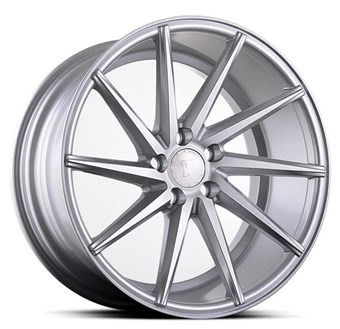 Platinum Wheels Platinum P5Left SILVER BRUSH FACE