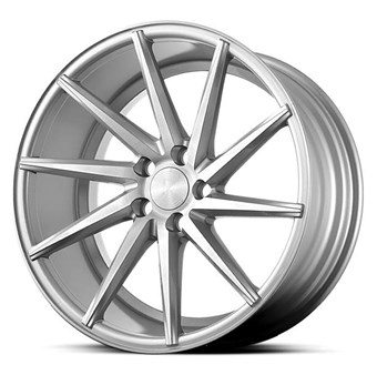 Platinum Wheels Platinum P5Right SILVER BRUSH FACE