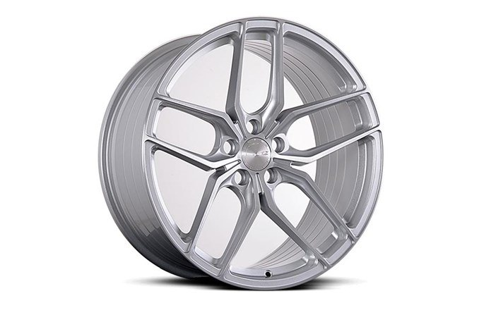 ABS Wheels ABS F17 SILVER BRUSH