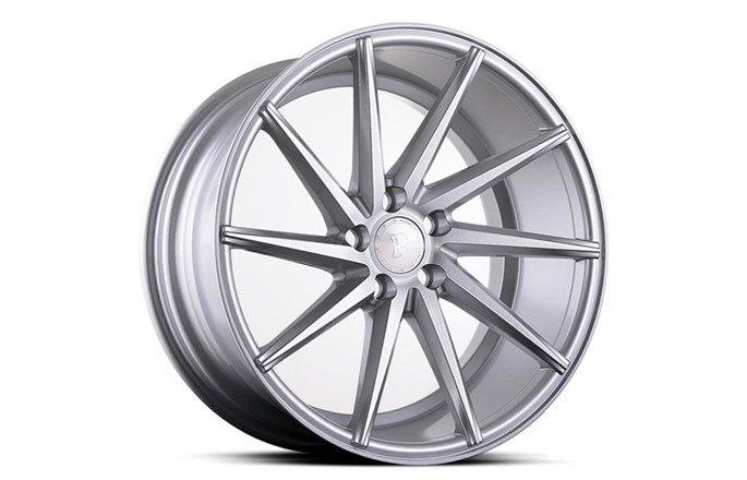 Platinum Wheels Platinum P5Left SILVER BRUSH
