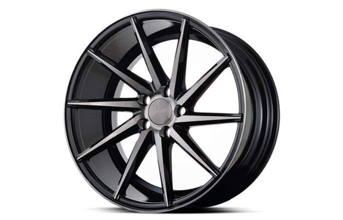 Platinum Wheels Platinum P5Right BLACK DARK TINT