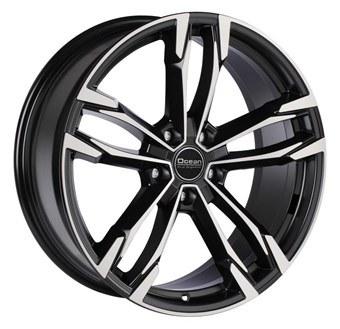 Ocean Wheels F5 Black Polish