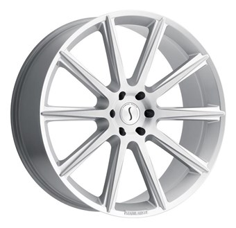 Status Wheels Zeus Silver w/Brushed Face