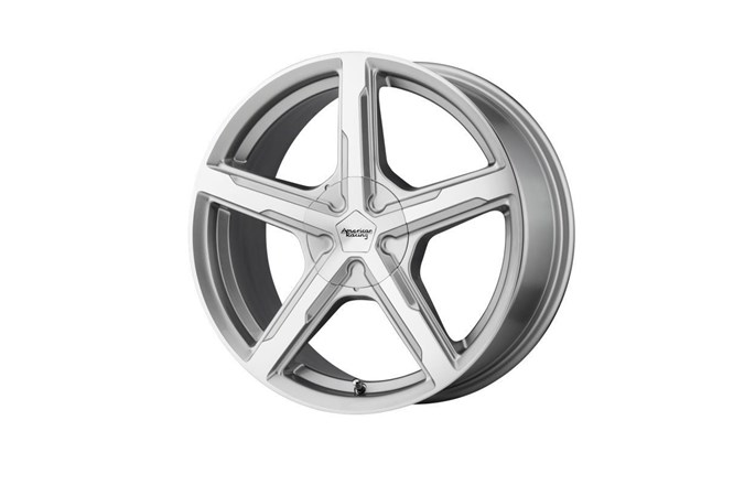 American Racing AR921 Silver Machined