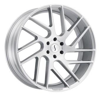 Status Wheels Juggernaut Silver w/Brushed Machine Face