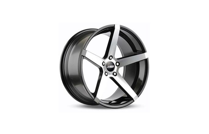 ABS Wheels ABS355 Black polished