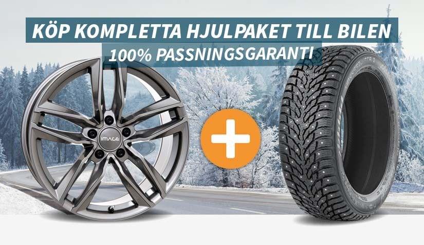 Köp kompletta vinterhjul direkt online