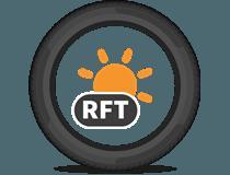 Punkteringsfria sommardäck (RFT)