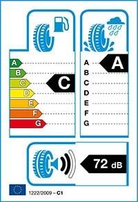 Däckets energiklass, våtgrepp och ljudnivå