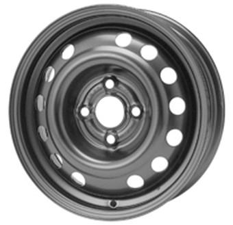 Chevrolet Plåtfälg Black