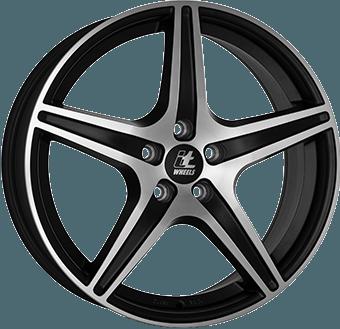 IT Wheels Gabriella Matt black / polished