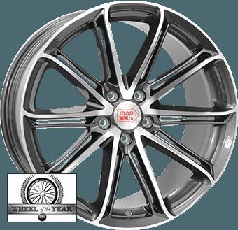 Mille Miglia MM1007 Dark anthracite / polished