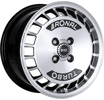 Ronal R10 Turbo Black / polished