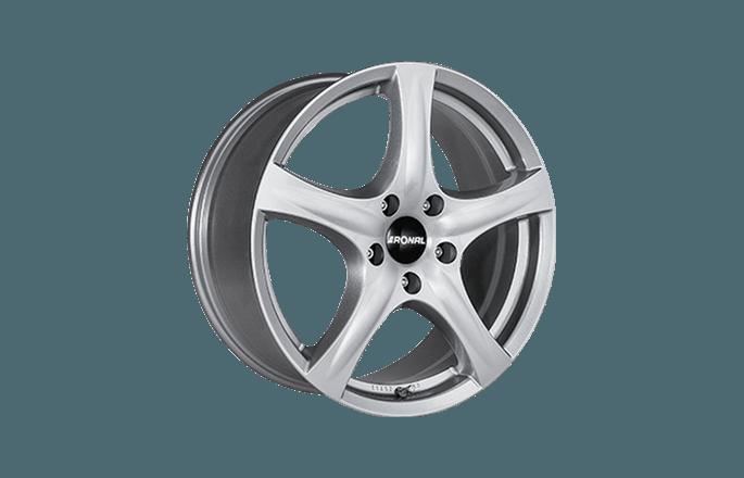Ronal R42 Crystal Silver