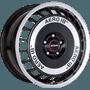 Ronal R50 Aero Black / Polished