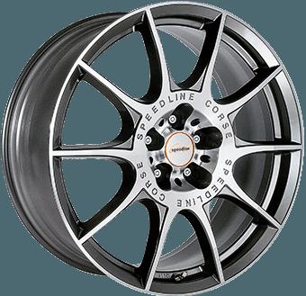 Speedline SL2 Anthracite / polished