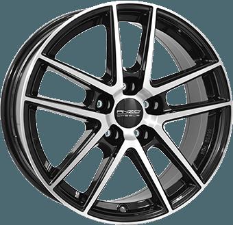 Anzio Split Black / polished