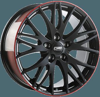 CMS C8 Black / red
