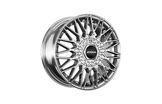 Ronal LSX Silver / Polished