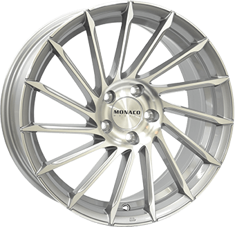Monaco Turbine Light grey / polished