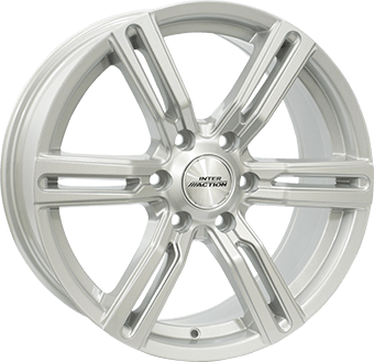 Inter Action Kargin 6-spoke Silver
