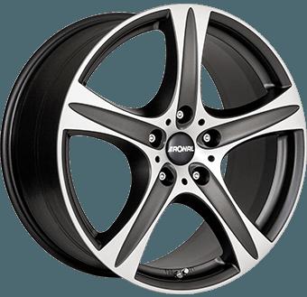 Ronal R55 Suv Matt black / polished