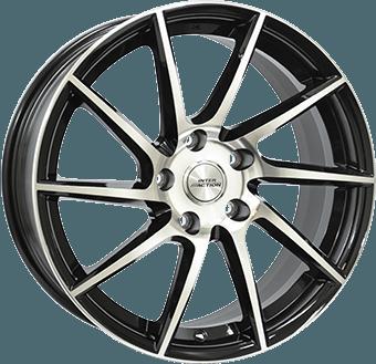 Inter Action RV10S Black / polished