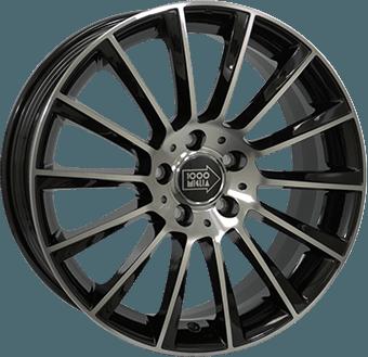 Mille Miglia MM047 Black / Polished