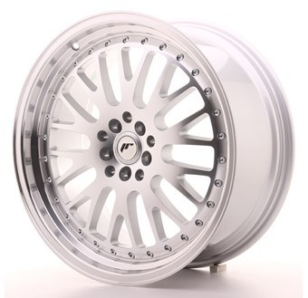 JR10 Machined Face Silver