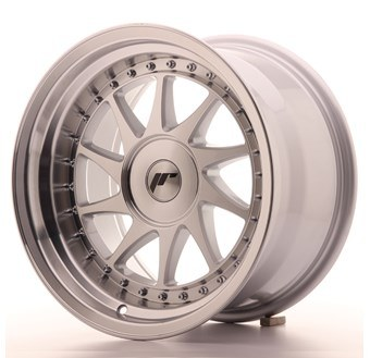 JR26 Machined Face Silver