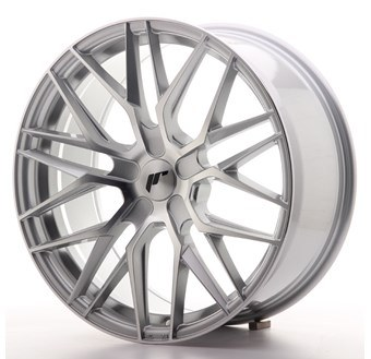 JR28 Machined Face Silver