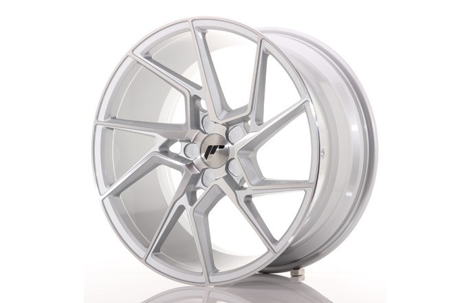 JR33 Machined Face Silver