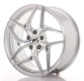 JR35 Machined Face Silver
