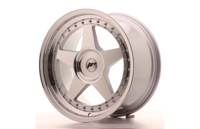 JR6 Machined Face Silver