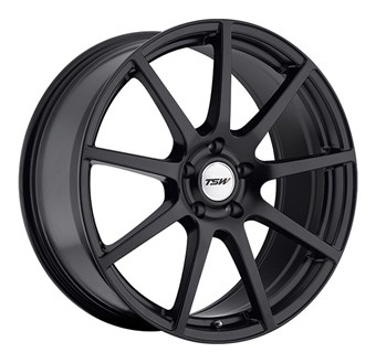 TSW Interlagos Matt Black