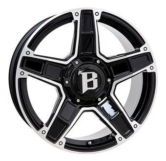 Ballistic Dakota Black / Polished