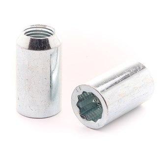 Hjulmutter Torx 20-Pack Silver
